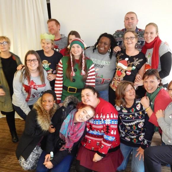 Christmas 2015 staff