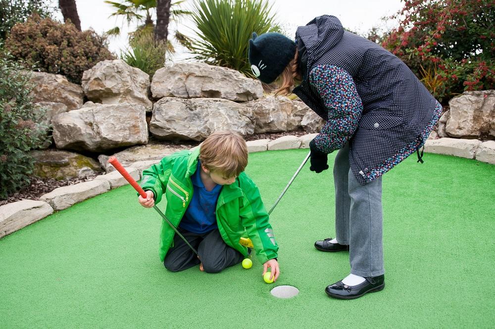 After School Club golf tee