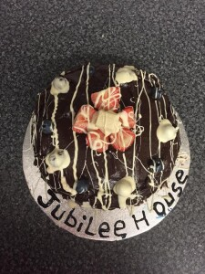 Jubilee House Bake Off Competition winner's chocolate cake